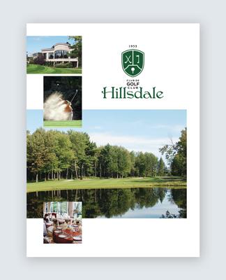 Hillsdale – pièces publicitaires