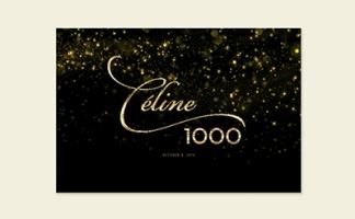 CÉLINE – 1000e représentation Caesars palace